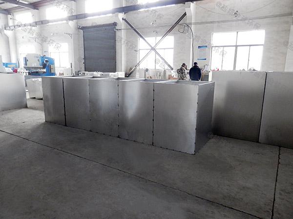 单位食堂大地下室智能型一体化隔油池设备的油怎么处理
