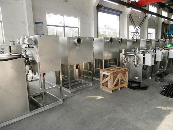 餐饮业室内大全自动油水处理设备技术参数厂家
