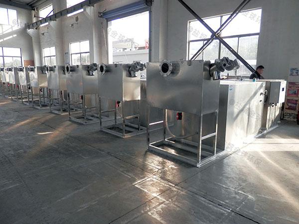 餐饮专用中小型埋地式多功能隔油污水提升一体化设备使用要求