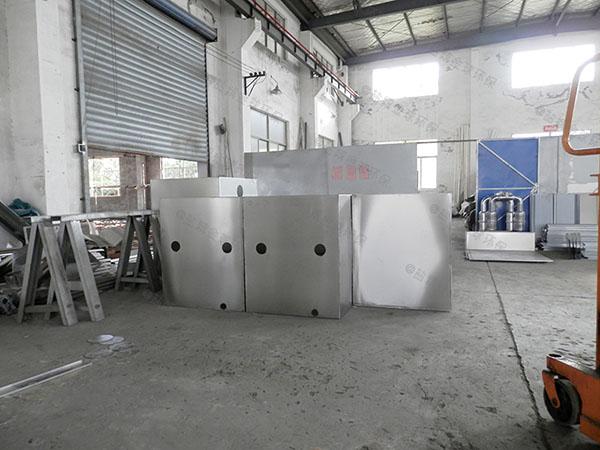 饮食业中小型地下室半自动油水渣分离设备生产