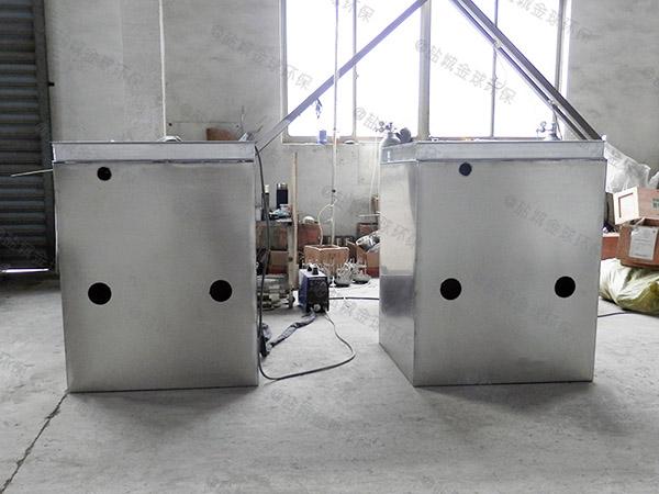 工地食堂大型地上式分体式隔油过滤设备的型号规格