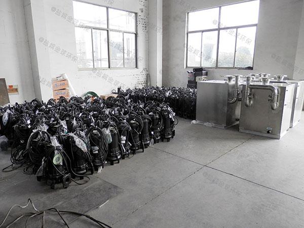 餐饮专用大型地埋机械污水隔油设备使用要求