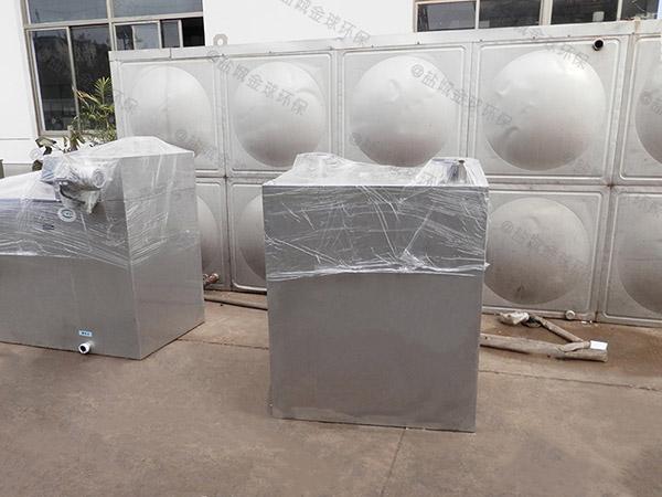 火锅专用室内自动除渣油水分离器参数
