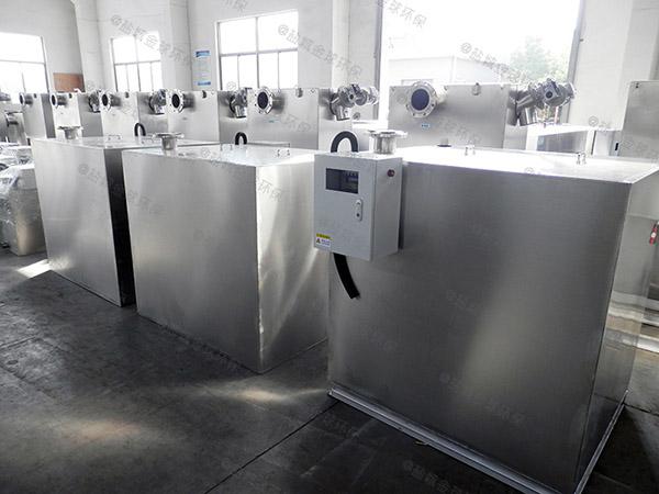 单位食堂中小型埋地式自动提升隔油成套设备制作