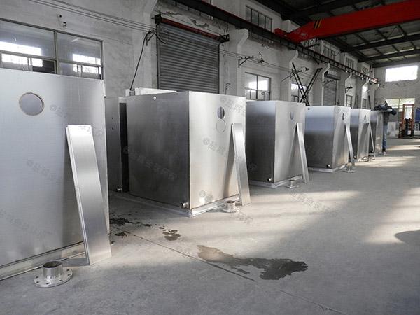 单位食堂大组合式气浮隔油设备方案