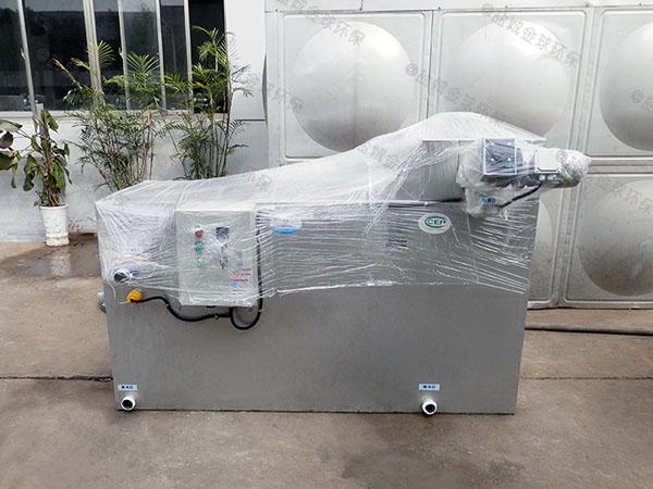 商城室外大自动除渣隔油器自动提升装置方法