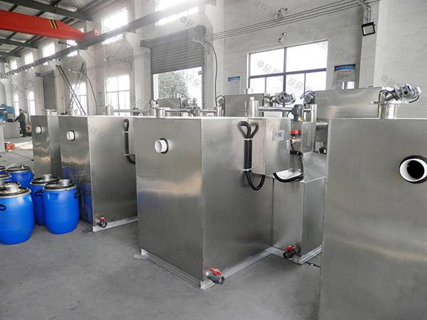 餐饮专用地上式机械油水固三相分离器规格型号