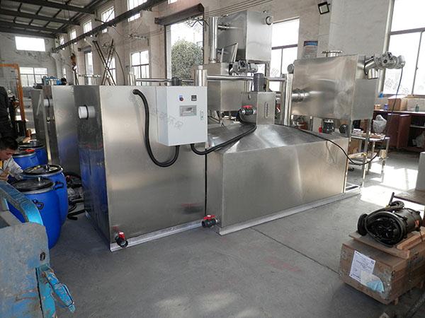 家庭大地埋式全自动隔油污水提升一体化设备改造价格