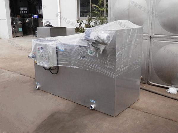 小饭店埋地式自动排水油水分离污水处理设备是什么样子