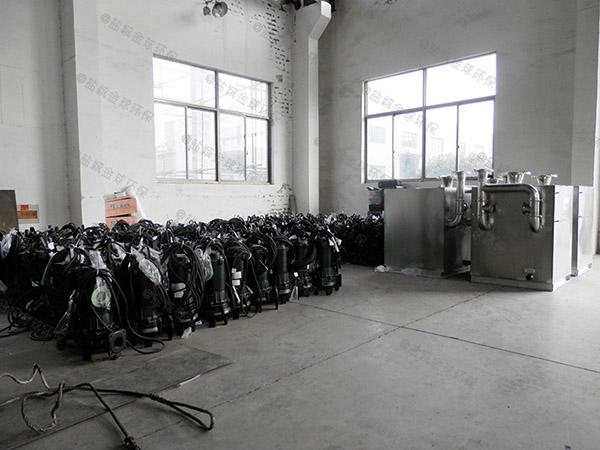 单位食堂地埋智能化一体式油水分离器那种好