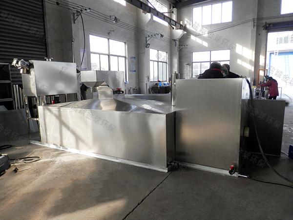 餐厨地下式移动式油水渣分离器产品