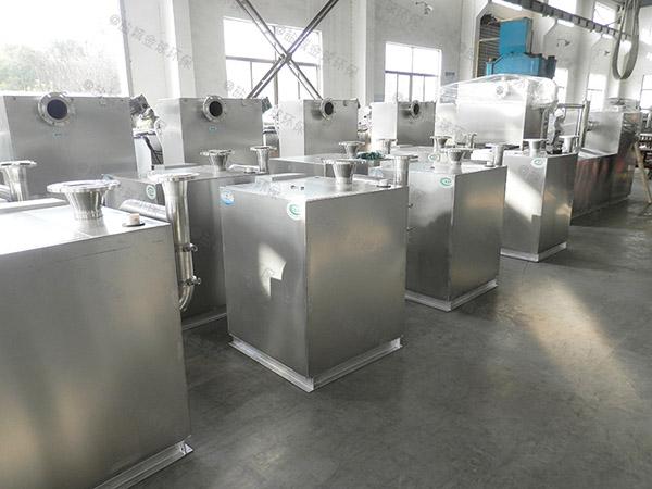 工地食堂地上式大隔油污水提升一体化设备系统