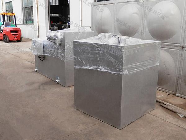 住宅楼户外大自动除渣一体化油脂分离器技术参数