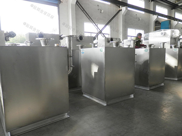 饭馆中小型地下室机械隔油设备需要泵吗