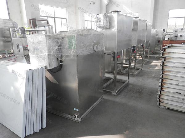 餐饮环保大地埋半自动强排油水分离器系统