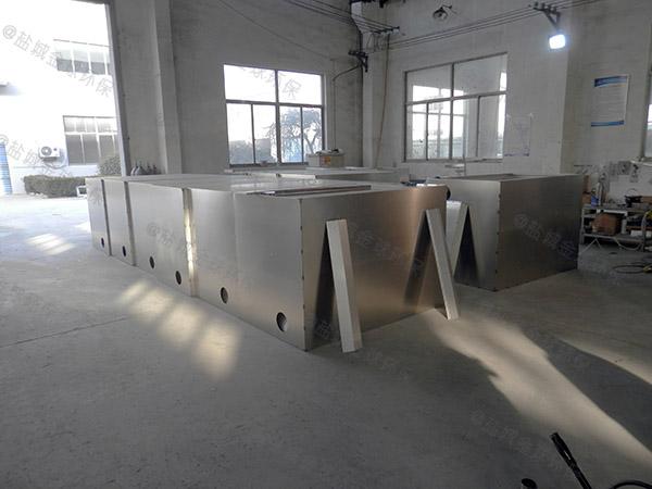 餐厨地上式自动化隔油池成品CAD
