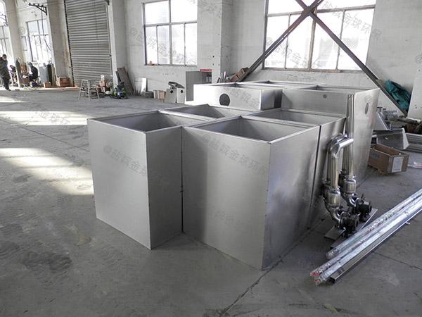 火锅地面式全自动不锈钢油水分离器的选择