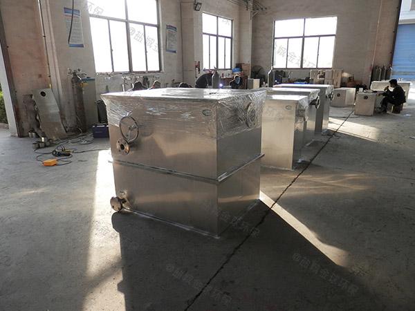 后厨地上式大型移动式一体化隔油池排行