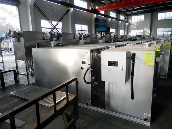 工地大地下室全能型隔油器提升设备工作原理图