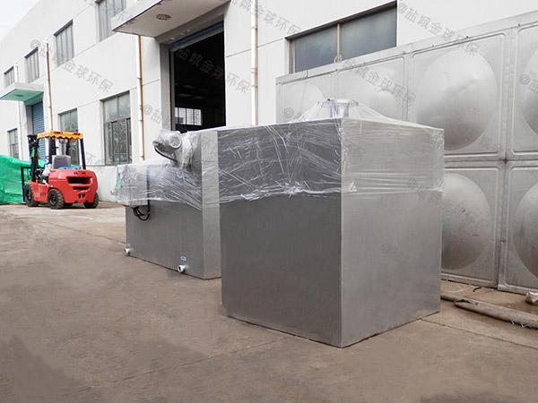 商用户外中小型自动排水污水隔油池要多少钱