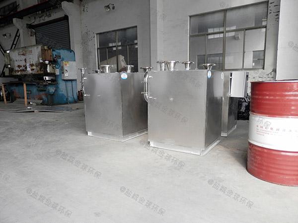 餐用室内自动化隔油提升一体化装置厂家