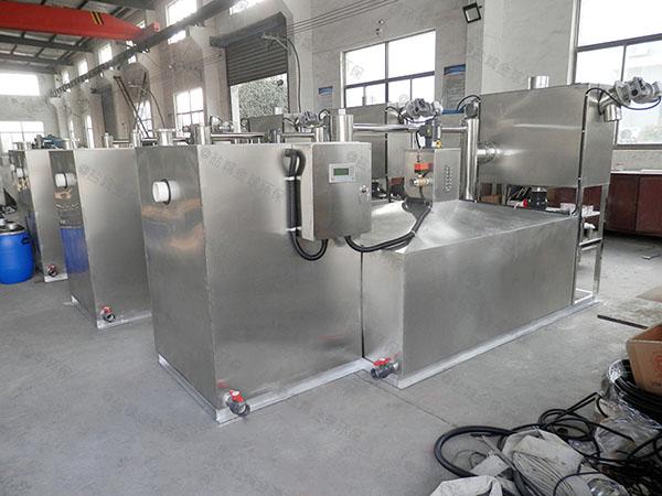 餐厅厨房地面式全自动智能型成品油水分离器系统