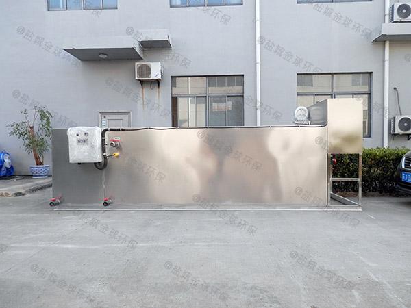 工厂食堂大型地面自动化三仓式隔油池厂家有哪些