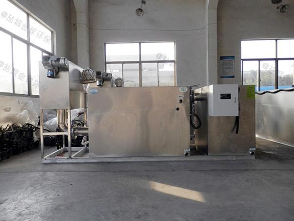 小饭店中小型室内机械油水过滤器环保