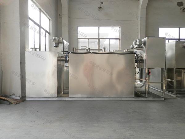 厨房用大室外自动刮油油水分离隔油池多少钱一套