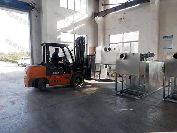 火锅店中小型全自动智能型三仓式隔油池生产