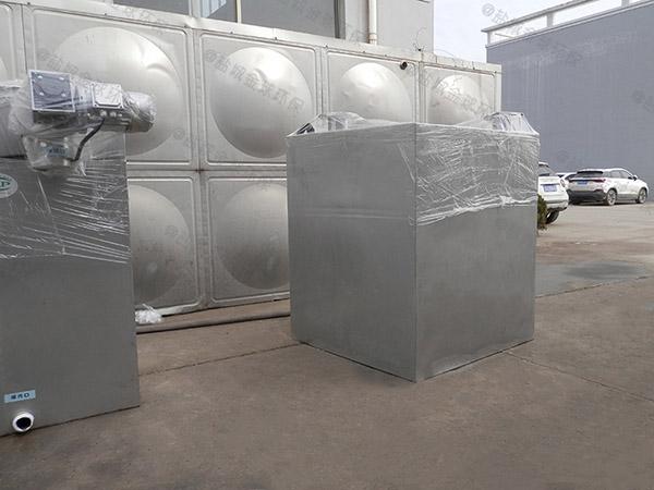 餐用中小型地下智能化一体化隔油污水提升设备介绍