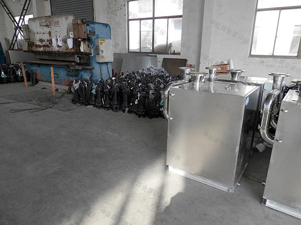 饮食业地上式大型多功能隔油提升一体化装置怎么使用