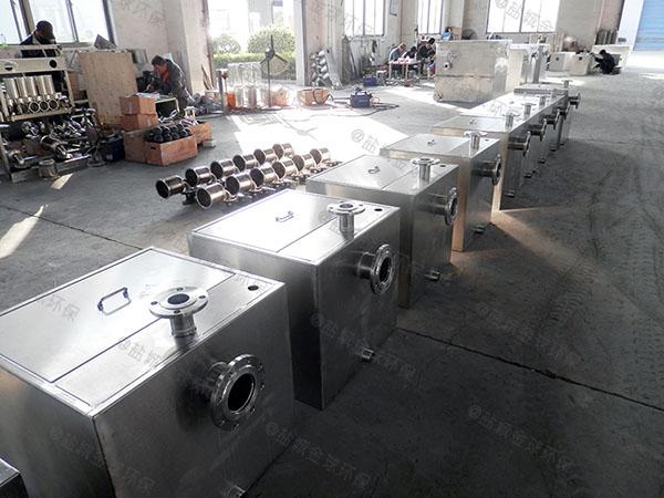厨下型地面智能水油分离装置工程
