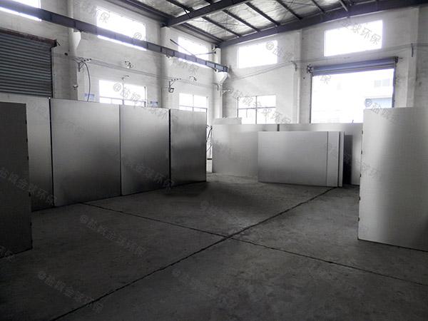 厨下型大地面式自动化隔油一体化设备厂家