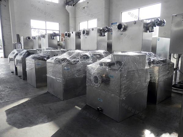 生活大地面式机械油水分离器一体化产品公示目录