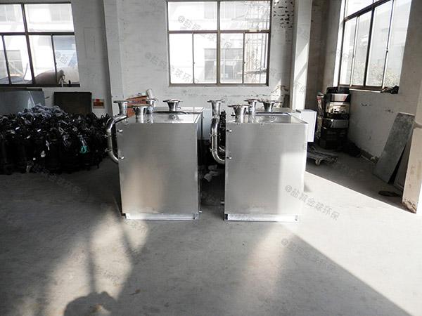 工厂食堂大型地上移动成套隔油池设备专利