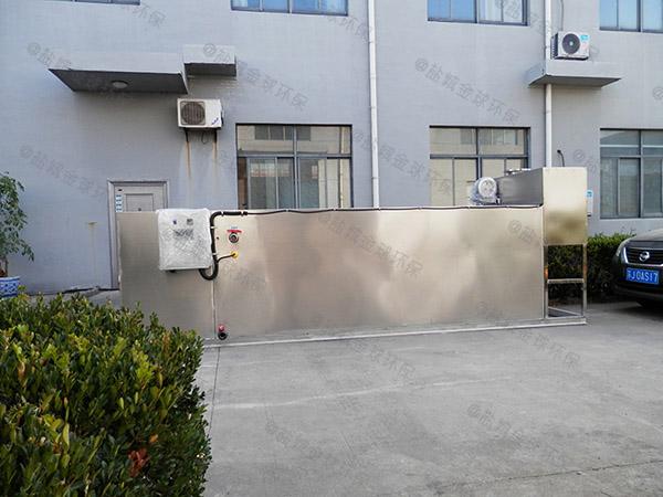 住宅楼户外大型多功能气浮式隔油池构造