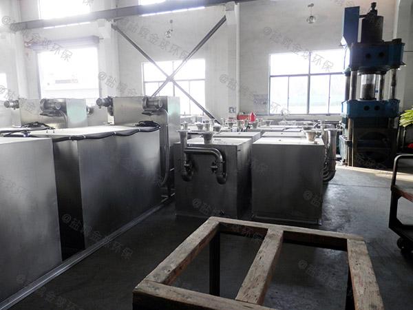 厨下型大型地下式组合式除渣隔油一体机定额