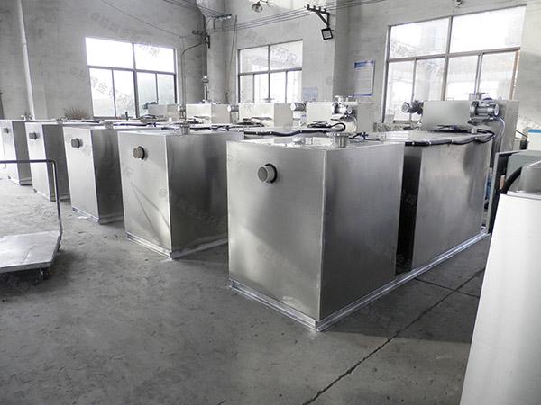 厨房用埋地式移动式一体化隔油强排设备型号选择