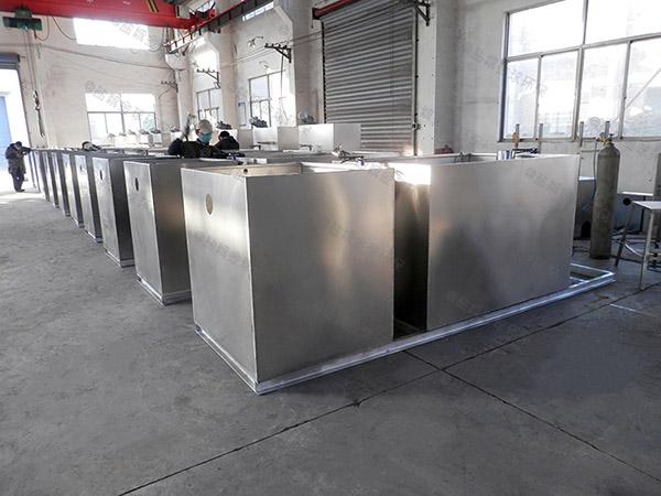 餐饮商户地下机械一体化隔油提升装置视频