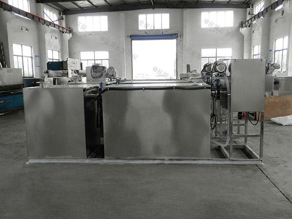 餐饮行业地下机械污水隔油器调试方案