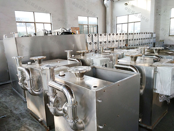 餐用地下式全能型污水油水分离设备用法