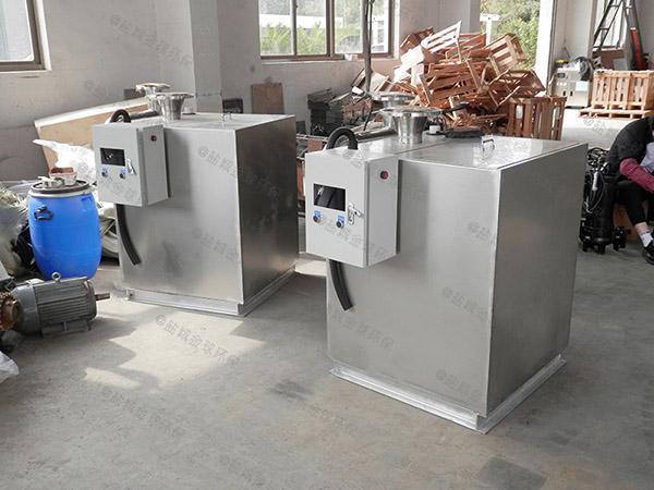 厨房用地上全自动智能型下水隔油设备适用行业