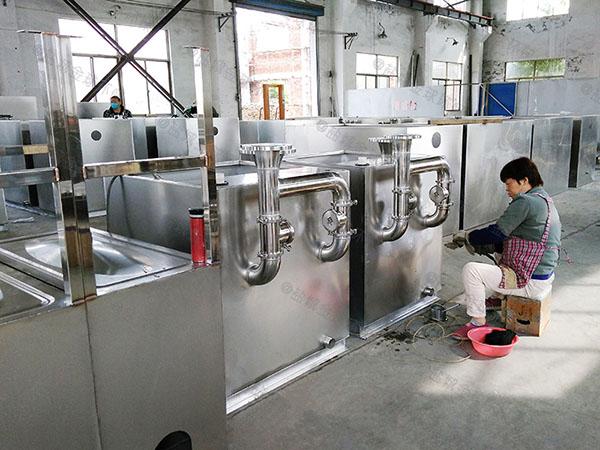 厨用地上式半自动一体化隔油池设备说明书