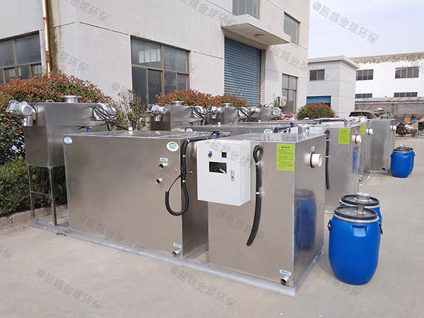 餐饮环保埋地移动式污水提升及隔油设备系列