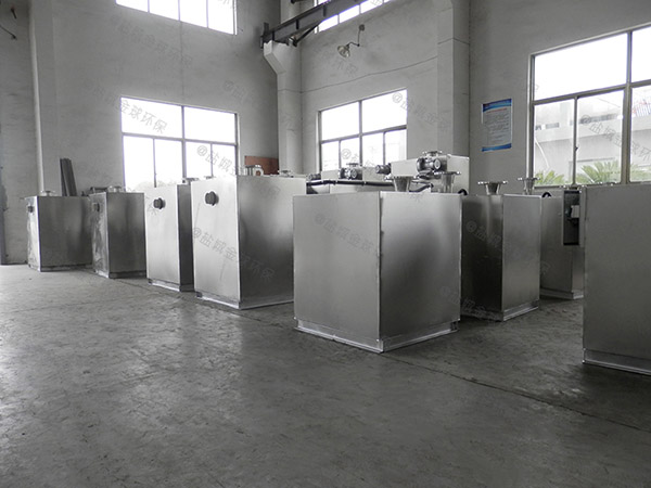 厨下型室外全能型一体化隔油池提升设备样品