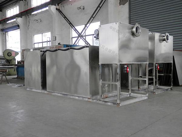 餐饮类室外机械一体化隔油污水提升设备应用范围