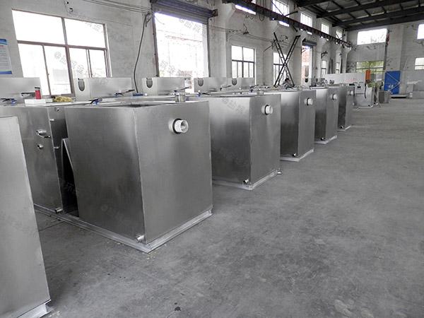 餐饮业地上式半自动一体化隔油污水提升设备制作方法