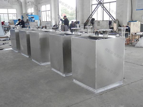 餐饮业地上式多功能一体化隔油提升装置制作方法