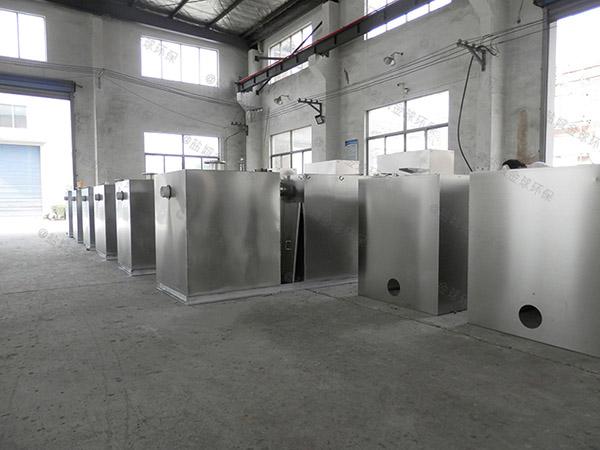 餐用地上式简易一体化隔油池设备制造商